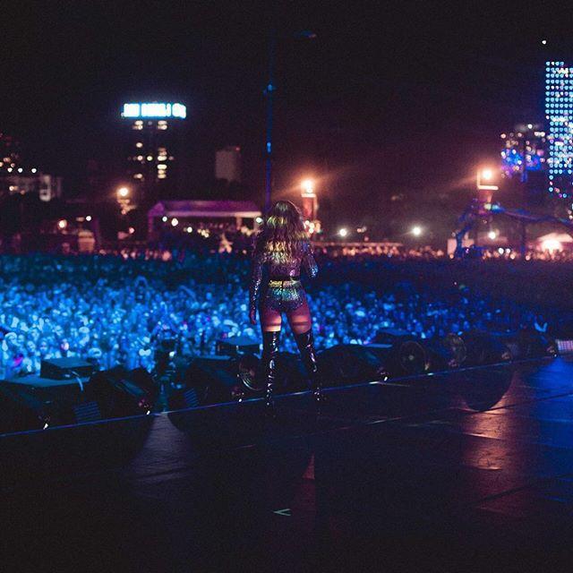 Бейонсе на фестивалі в Америці
