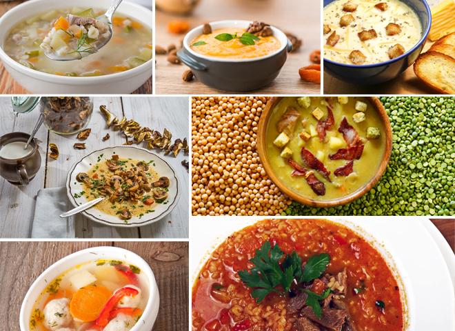Рецепты супов: ТОП-7 аппетитных горячих первых блюд