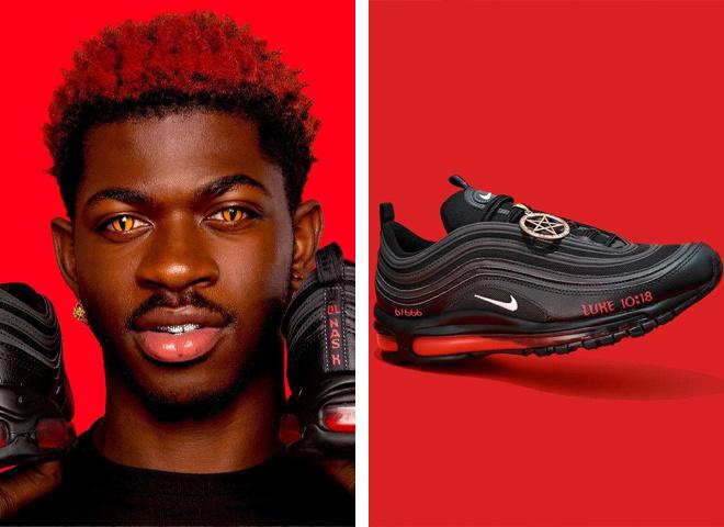 """Nike подает в суд на бруклинскую организацию художников MSCHF, которая выпустила """"кроссовки Сатаны"""""""