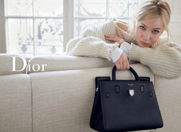 Дженніфер Лоуренс в рекламі Dior SS 2016