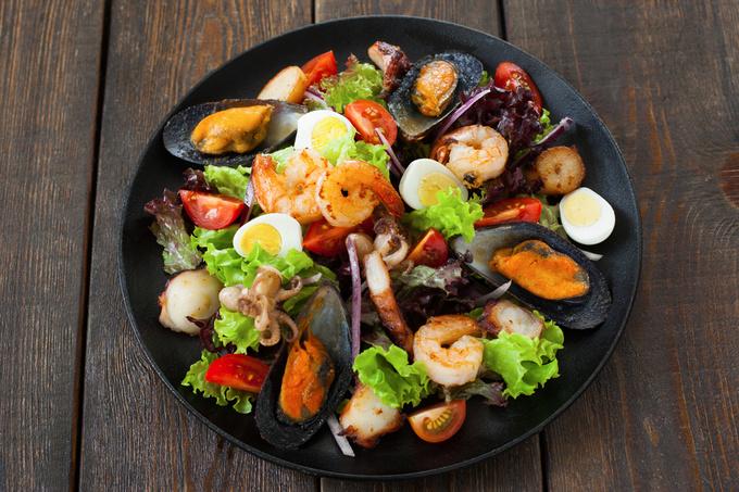 Салат з мідій