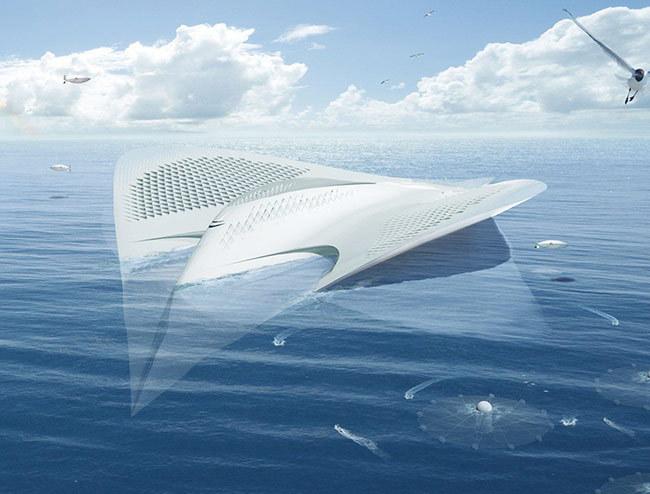 В Бельгии представили концепт плавучего эко-города будущего