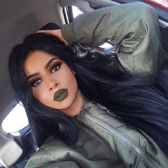 Модний тренд 2017: зелена помада