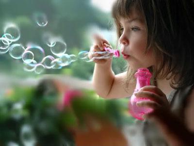 Мыльные пузырьки. Что еще нужно для счастья