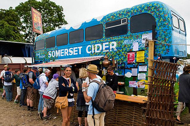 Путешествие на музыкальный фестиваль: Glastonbury Festival