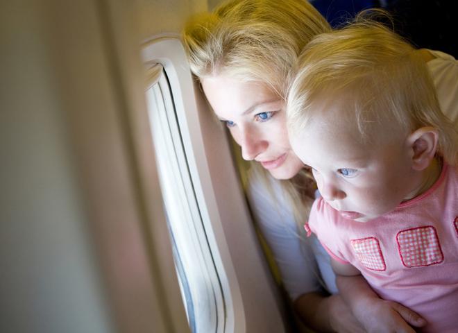 діти у літаку