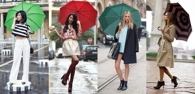 Зонт коллаж
