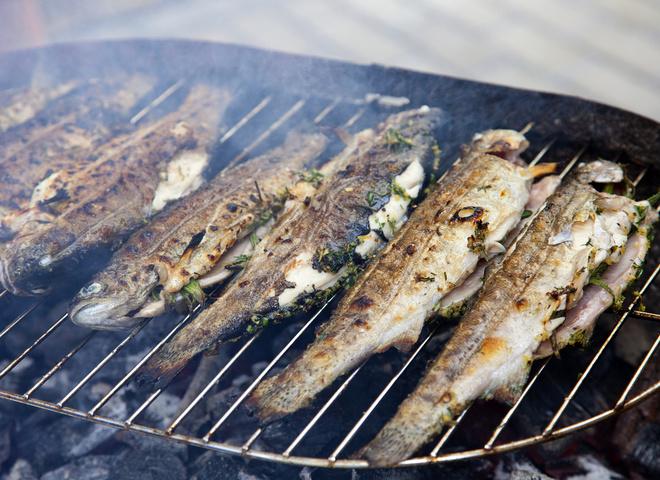 Рыба на гриле