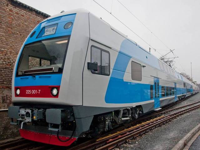 """Электропоезд Skoda: новшество """"Укрзалізниці"""""""