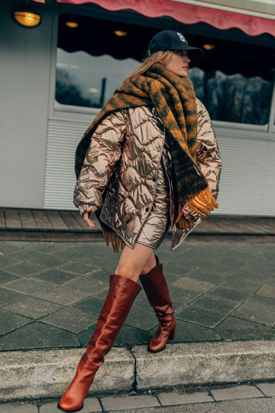Модные пуховики осень-зима 2020/21