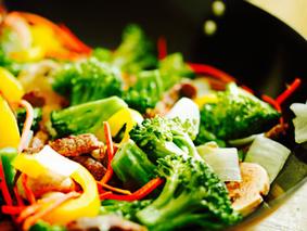 Овощи с вога