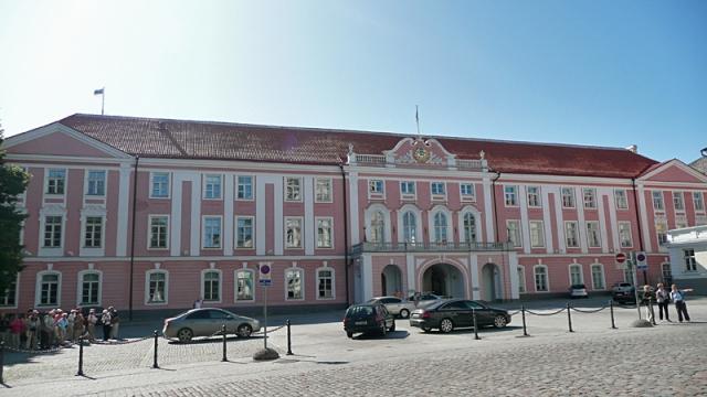 Цікаві місця Таллінна: будівля Парламенту