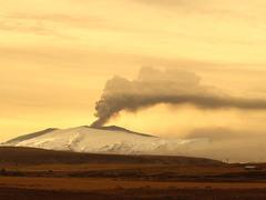 вулкан в Ісландії