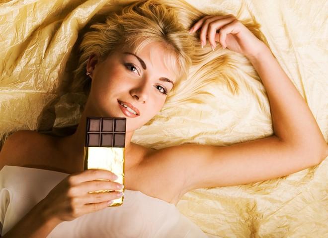Шоколад - отилчный способ поднять настроение