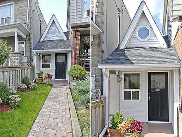 5 самых маленьких домиков в мире: Дом в Торонто