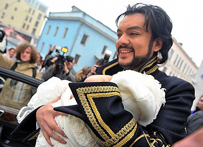 Филипп Киркоров и его сын Мартин