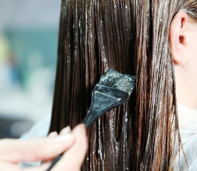 Пофарбоване волосся