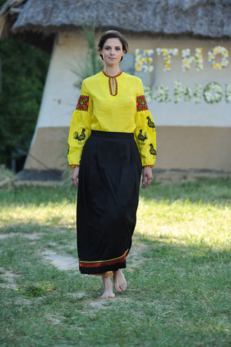 Коллекции Этно-fashion на фестивале «Країна Мрій»: ЗЕРНО
