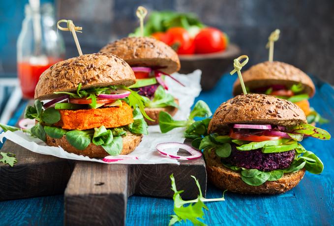 Вегетаріанський бургер