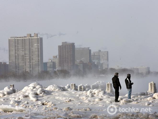 Погода в США морози 2014 фото