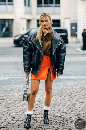 кожаные куртки осень 2020