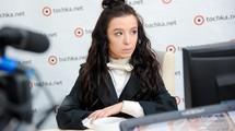 Даша Суворова в гостях у tochka.net