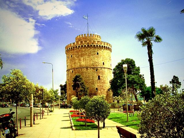 Цікаві місця Салоніки: Біла вежа