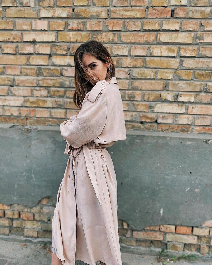 Модні тренчі, які носять українські знаменитості