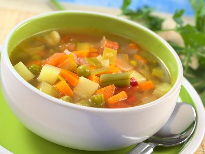Диетические блюда на лето, суп
