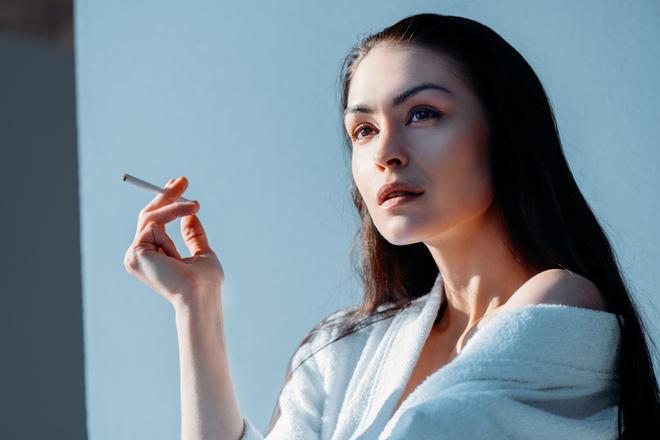 Догляд за шкірою для курців
