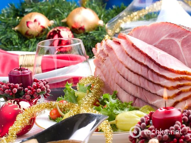 М'ясний стіл на Новий рік 2015, Новорічні страви