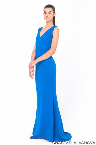 Длинные платья на лето 2016: наряды с подиума от Анастасии Ивановой