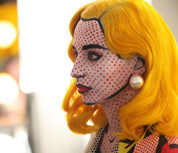 Крутой макияж на Хэллоуин