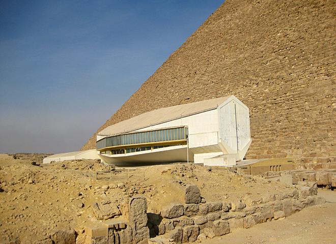 Музеї Єгипту: Музей сонячної тури, Гіза