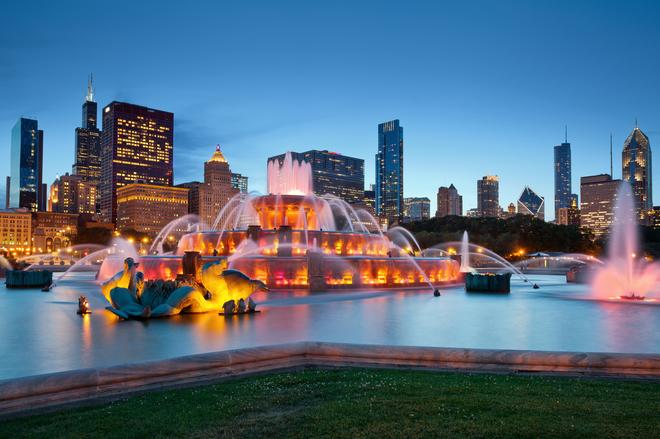 Чикаго - місто вітрів, хмарочосів і великих вогнів