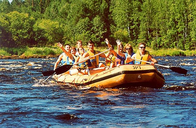 Водный туризм в Карелии