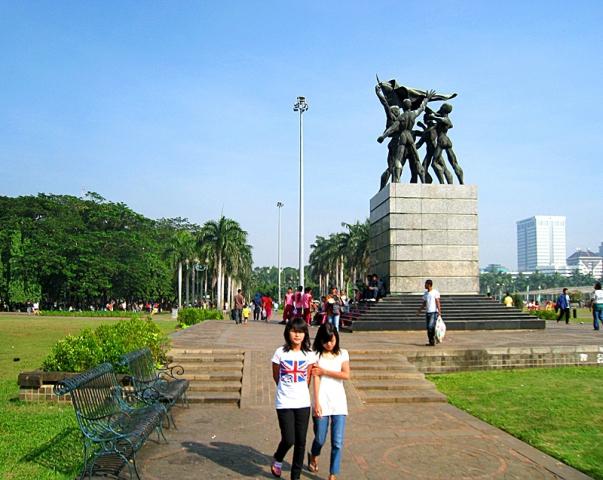 5 найбільших міських площ у світі: Площа Медан Мердека, Джакарта, Індонезія