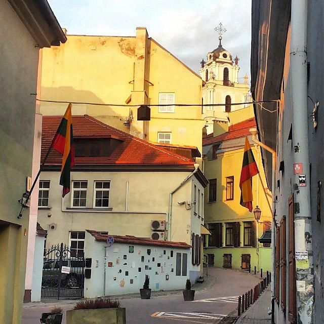 Визначні місця Вільнюса в Instagram