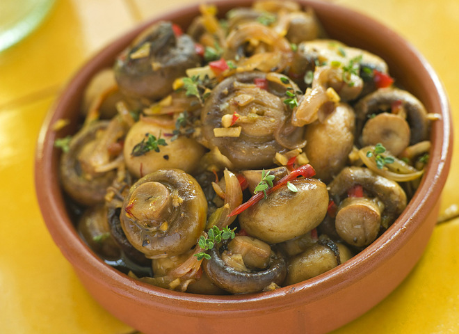 Мариновані гриби