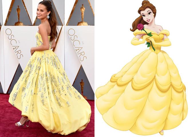 Диснеевские принцессы на Оскар 2016