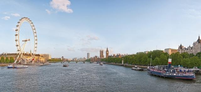 Достопримечательности Лондона: Панорама Лондона