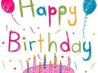 Позитивная открытка на день рождения