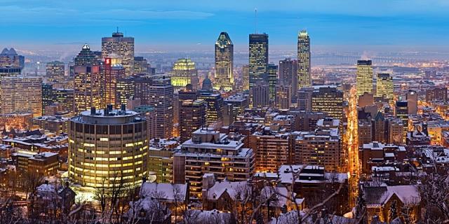Монреаль с высоты