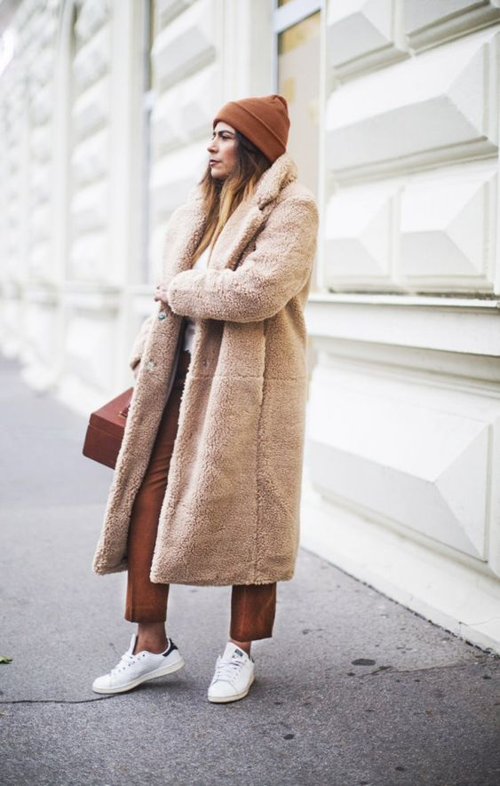 Плюшевое пальто 2018