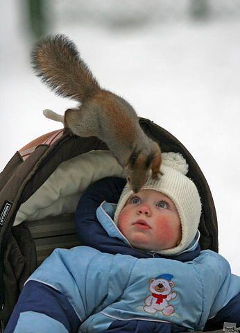 Невероятно милое фото с малышом на телефон