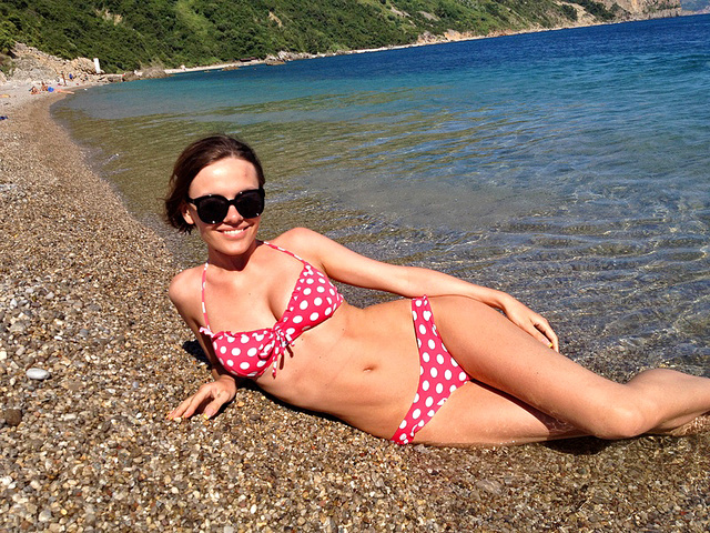 Еріка відпочила в Чорногорії