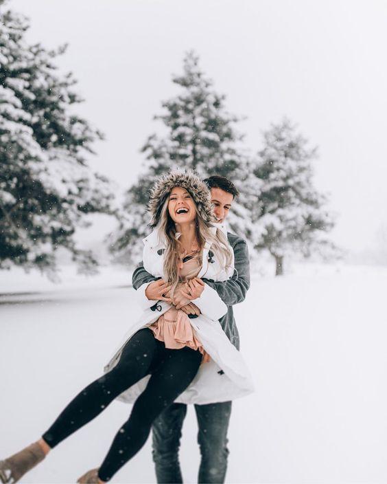 ТОП-15 фото зі снігом в твоїй стрічці