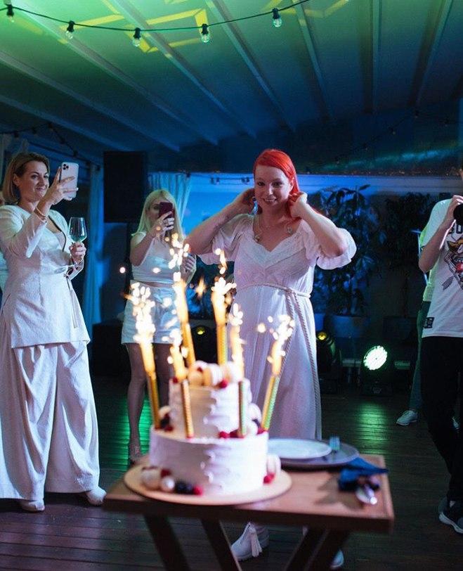 Вечеринка Светланы Тарабаровой