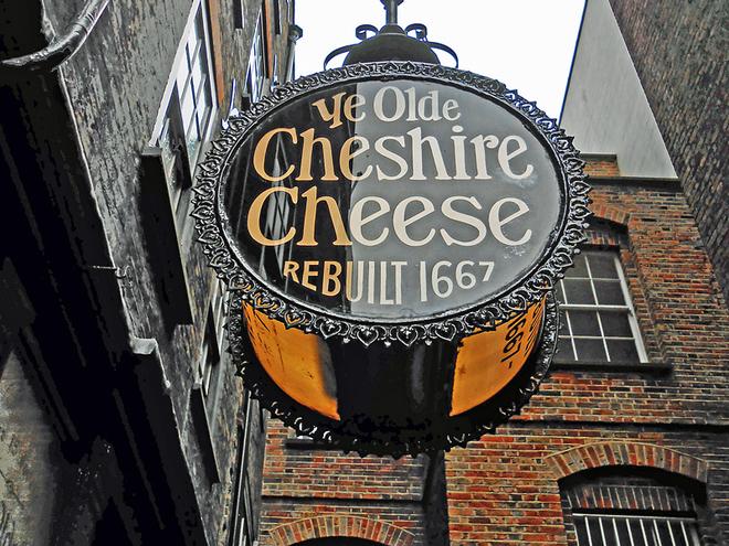 Алко-тур до Лондона. Паб Ye Olde Cheshire Cheese