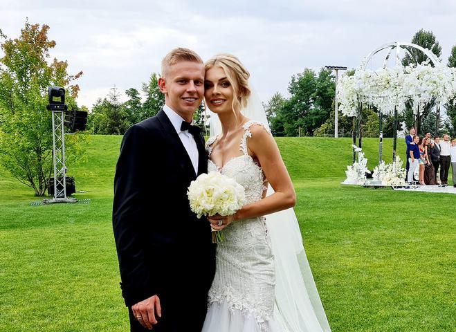 Весілля Олександра Зінченко та Влади Седан